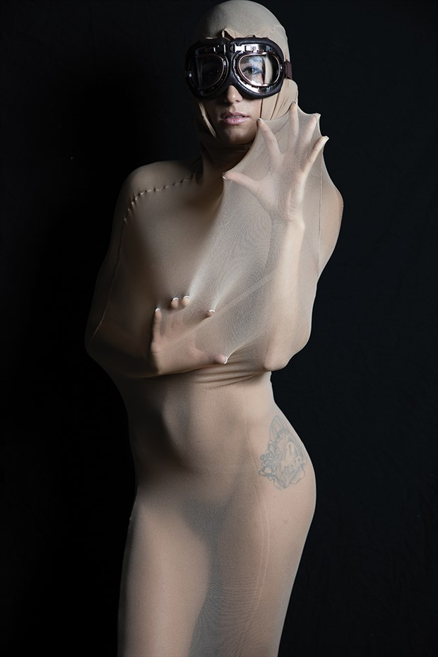 Artistic Nude Studio Lighting Photo by Model Chelsea Jo