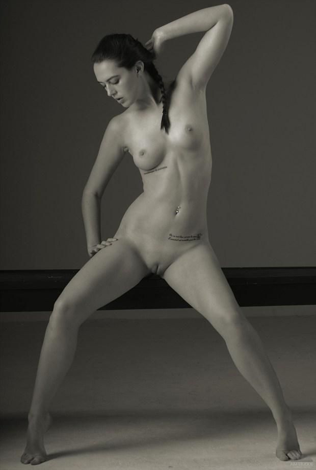 Artistic Nude Studio Lighting Photo by Model DianeNoir