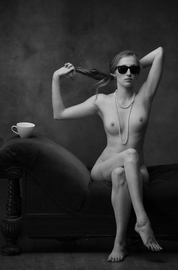 Artistic Nude Studio Lighting Photo by Model Eleanor Kathryn