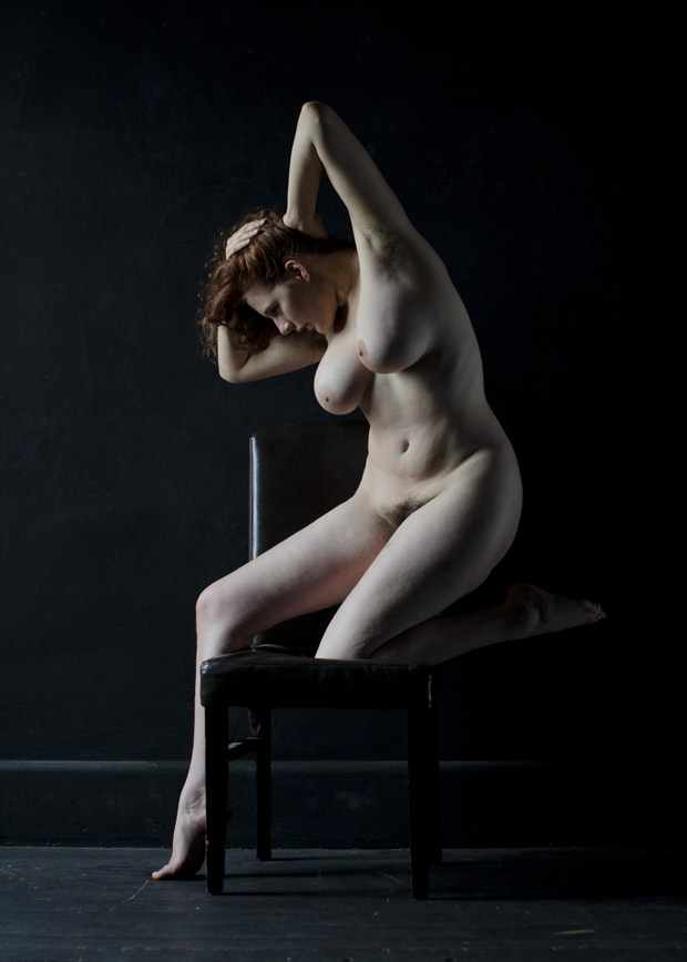 Artistic Nude Studio Lighting Photo by Model Eleanor Rose