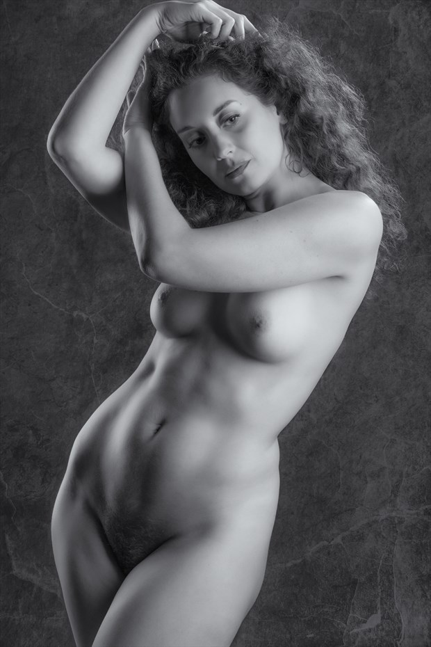 Artistic Nude Studio Lighting Photo by Model Ella Rose Muse