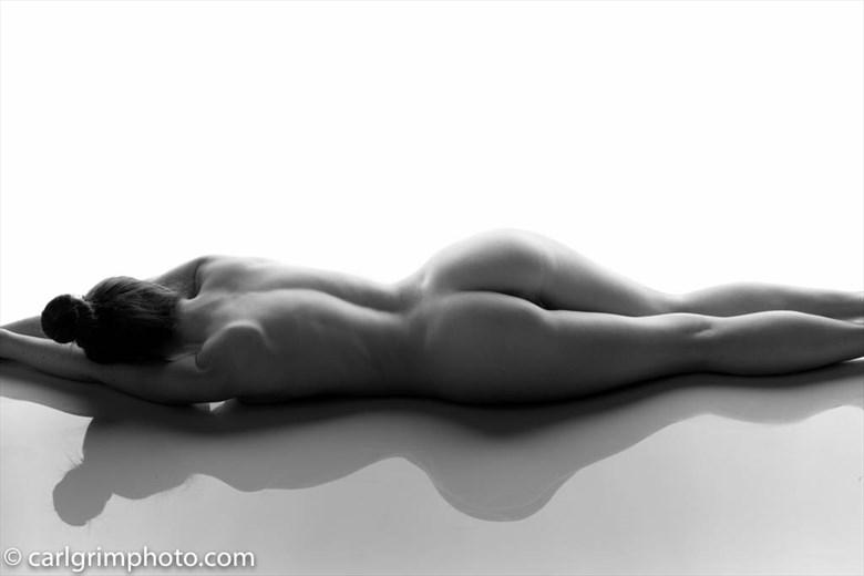 Artistic Nude Studio Lighting Photo by Model Elle Beth