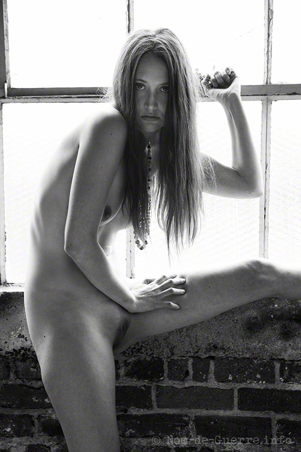 Artistic Nude Studio Lighting Photo by Model Ember No%C3%ABlle