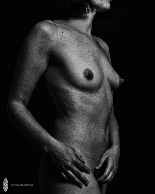 Artistic Nude Studio Lighting Photo by Model Isis22