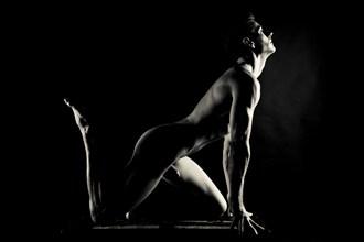 Artistic Nude Studio Lighting Photo by Model Jacob Dillon