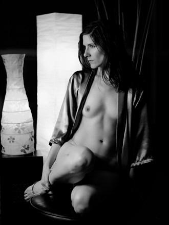 Artistic Nude Studio Lighting Photo by Model Kammeron Michelle