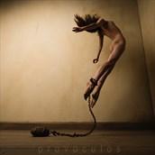 Artistic Nude Studio Lighting Photo by Model Kyotocat