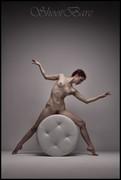 Artistic Nude Studio Lighting Photo by Model Laina V
