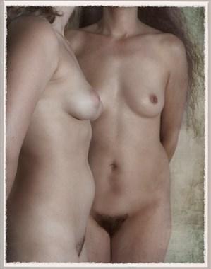 Artistic Nude Studio Lighting Photo by Model Lisa Everhart