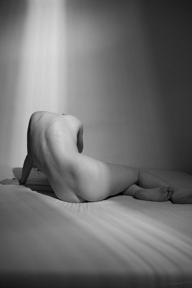 Artistic Nude Studio Lighting Photo by Model Liv Sage