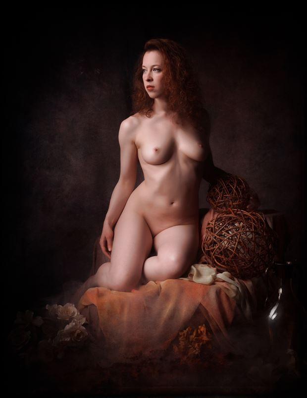 Artistic Nude Studio Lighting Photo by Model Lorelai
