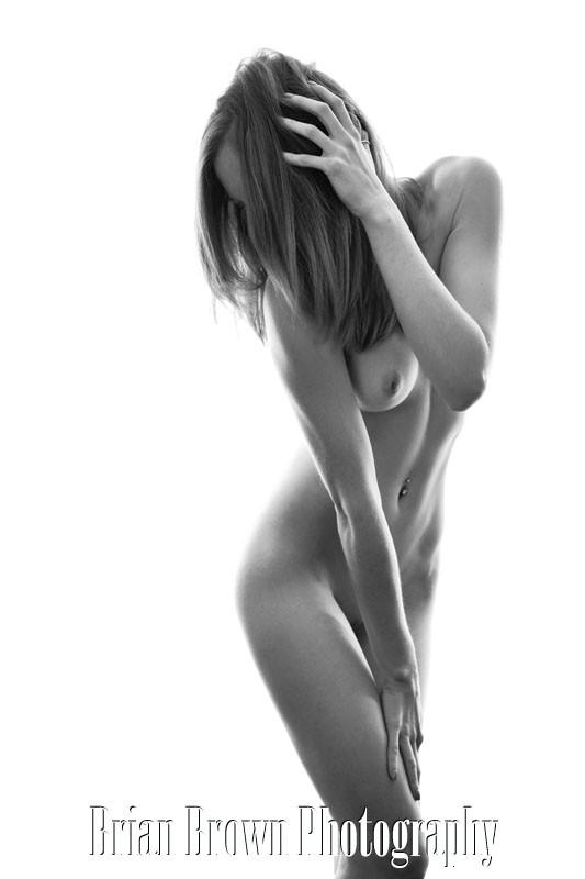 Artistic Nude Studio Lighting Photo by Model Lottie
