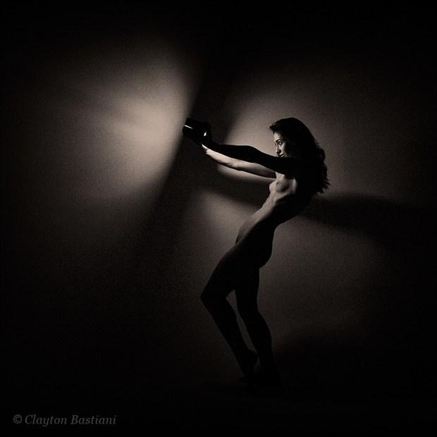 Artistic Nude Studio Lighting Photo by Model MISCHKAH