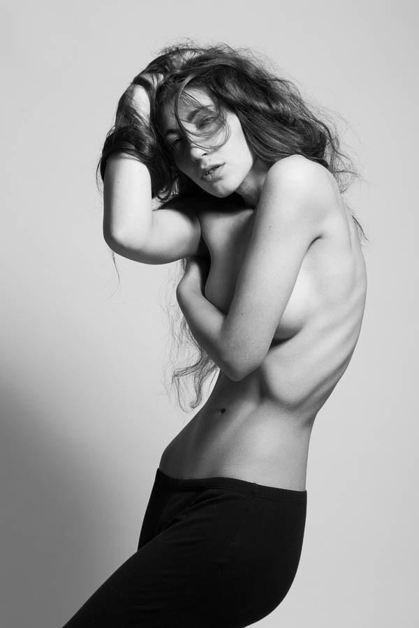 Artistic Nude Studio Lighting Photo by Model Madame Bink
