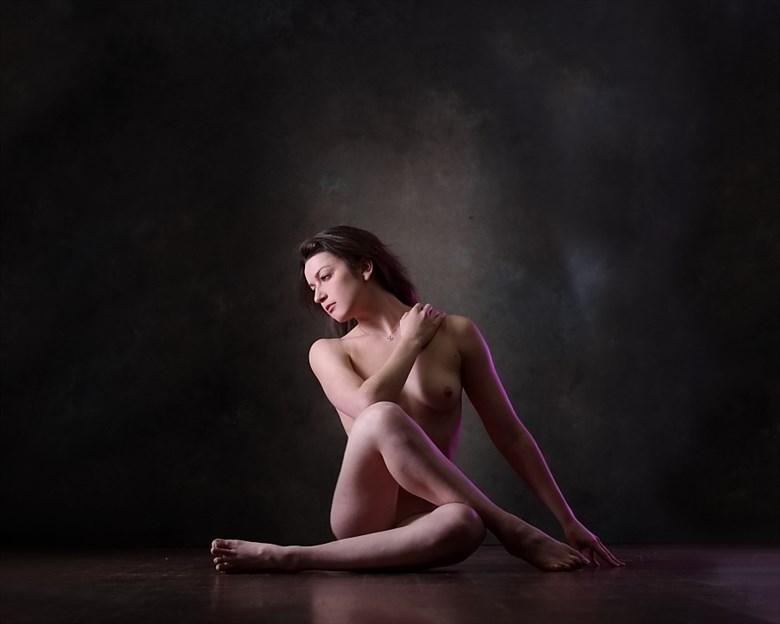 Artistic Nude Studio Lighting Photo by Model Madelainee