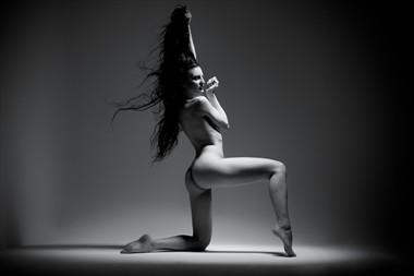 Artistic Nude Studio Lighting Photo by Model Mea Culpa