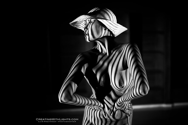 Artistic Nude Studio Lighting Photo by Model Minh Ly
