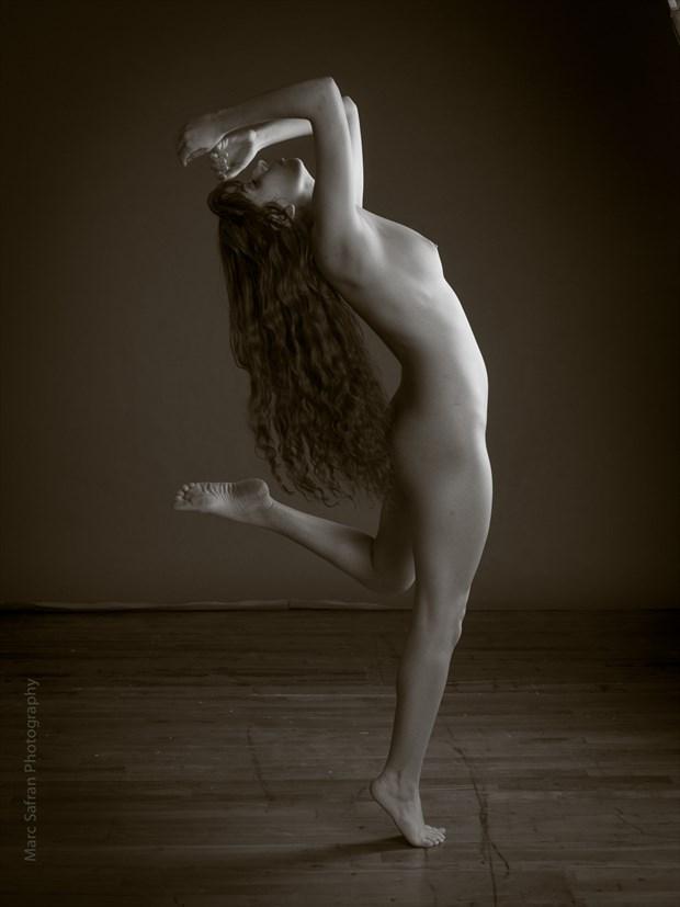 Artistic Nude Studio Lighting Photo by Model Monique