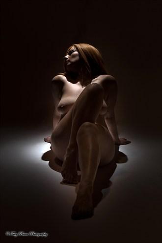 Artistic Nude Studio Lighting Photo by Model NATTA