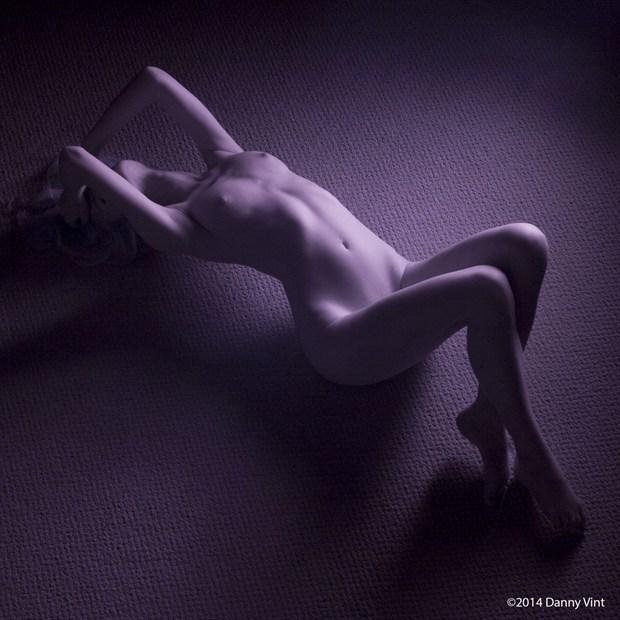 Artistic Nude Studio Lighting Photo by Model Olivia Preston