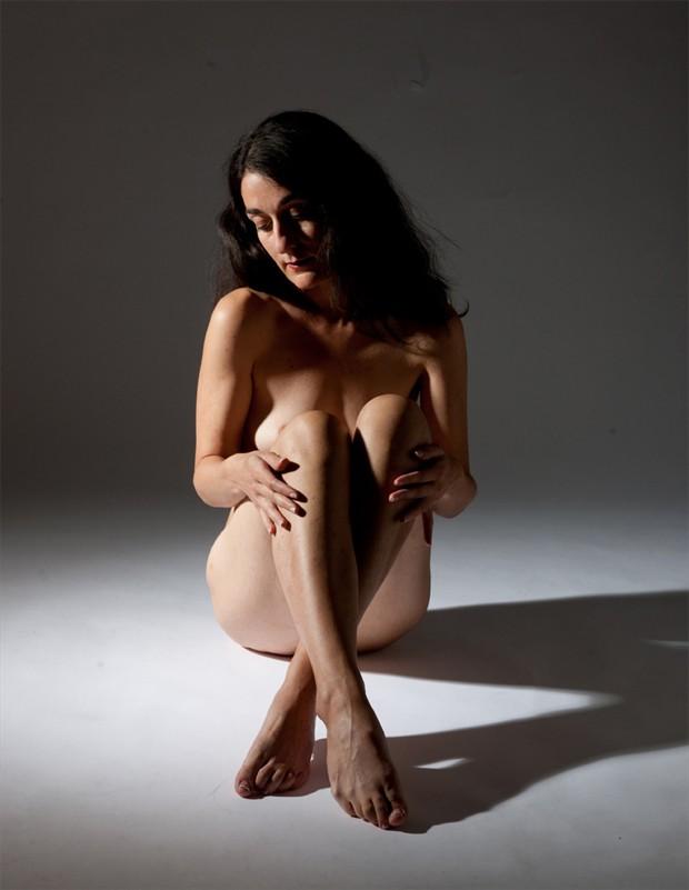Artistic Nude Studio Lighting Photo by Model Rose Valentina