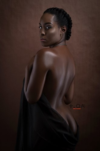 Artistic Nude Studio Lighting Photo by Model Rumaire