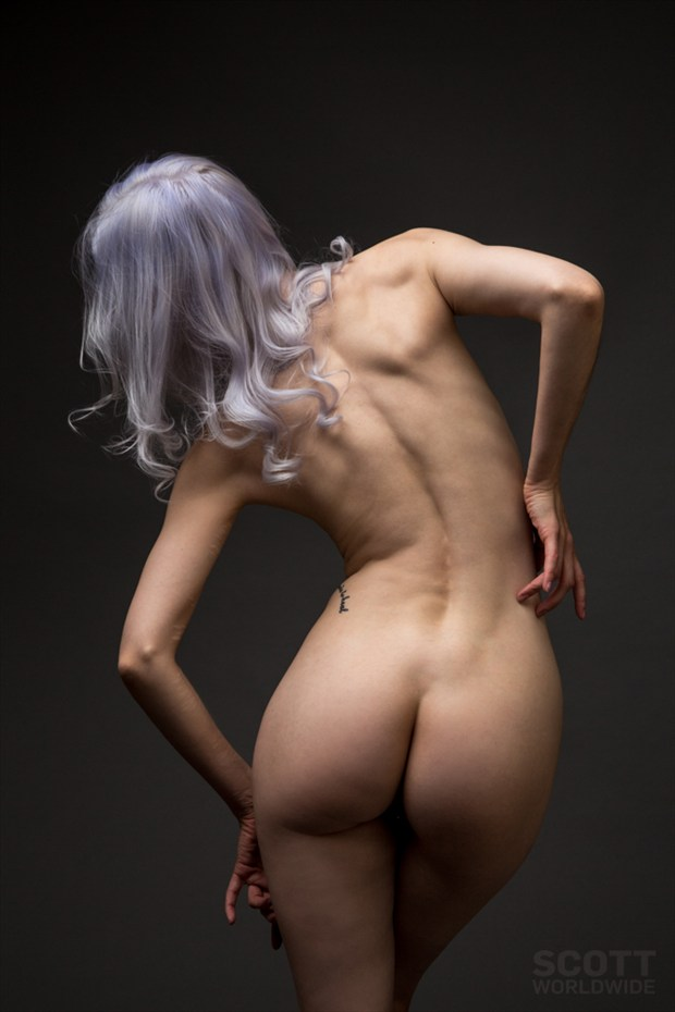 Artistic Nude Studio Lighting Photo by Model Ryann S