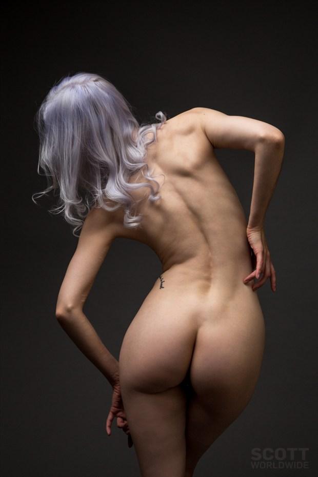 Artistic Nude Studio Lighting Photo by Model Ryann S
