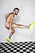 Artistic Nude Studio Lighting Photo by Model SILV