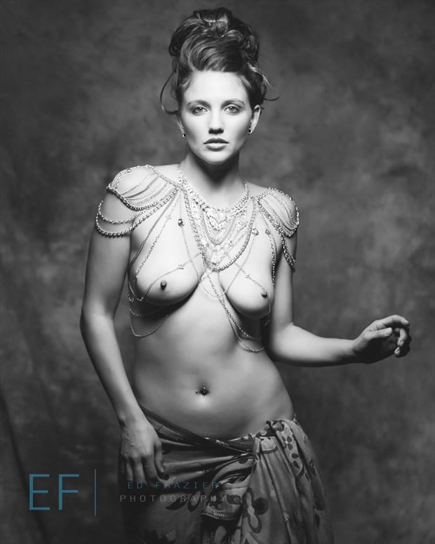 Artistic Nude Studio Lighting Photo by Model Satya