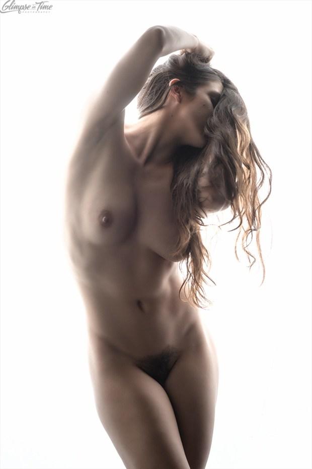 Artistic Nude Studio Lighting Photo by Model Sekaa