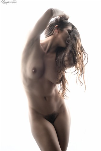 Artistic Nude Studio Lighting Photo by Model Sekaa