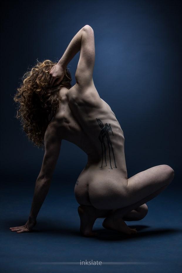 Artistic Nude Studio Lighting Photo by Model Stella Kat