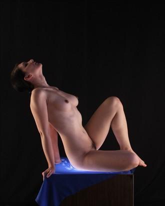 Artistic Nude Studio Lighting Photo by Model cookielarke