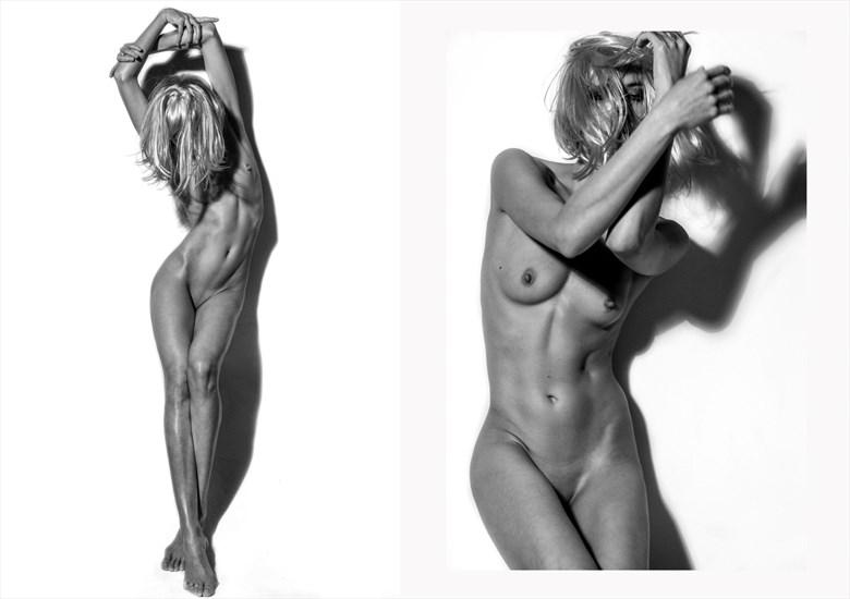 Artistic Nude Studio Lighting Photo by Model denisastrakova