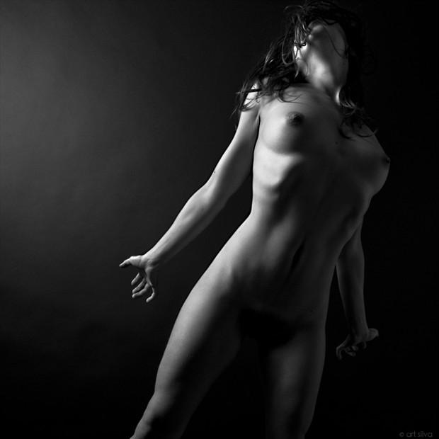 Artistic Nude Studio Lighting Photo by Photographer Art Silva