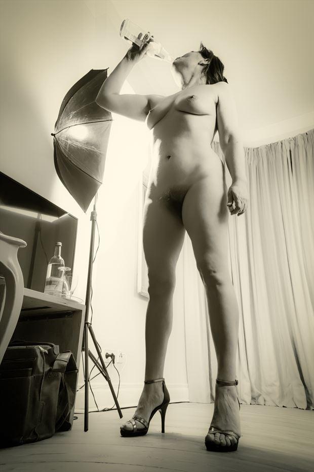 Artistic Nude Studio Lighting Photo by Photographer BenGunn