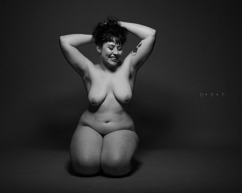Artistic Nude Studio Lighting Photo by Photographer Brandon Rudich