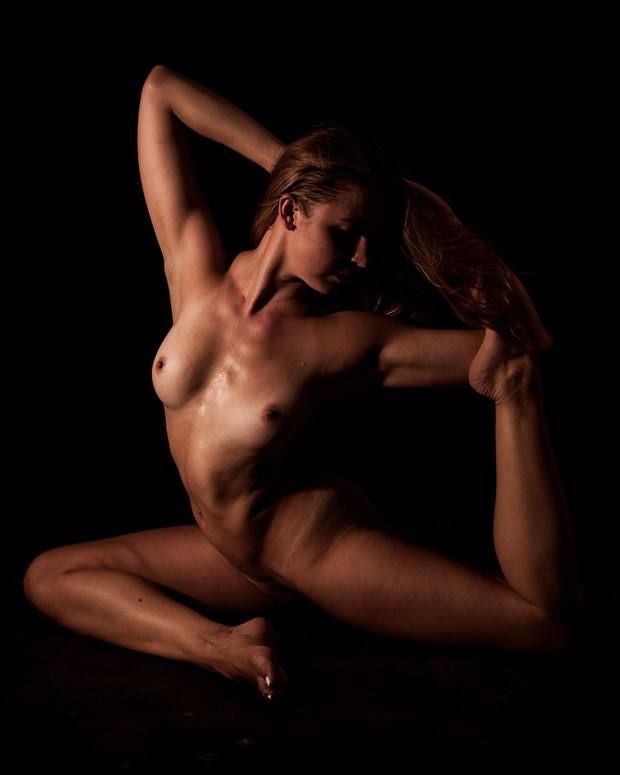 Artistic Nude Studio Lighting Photo by Photographer DJLphotography