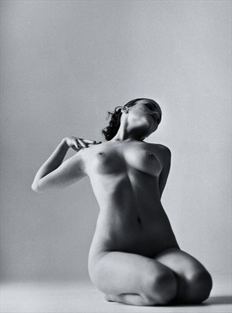 Artistic Nude Studio Lighting Photo by Photographer Jeanloup