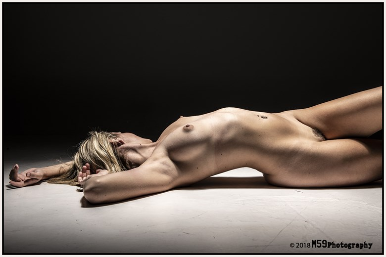 Artistic Nude Studio Lighting Photo by Photographer M59Photography