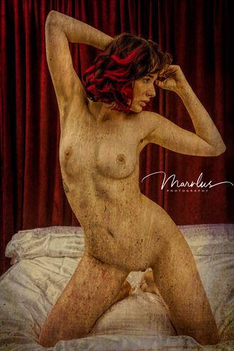 Artistic Nude Studio Lighting Photo by Photographer Marvlus