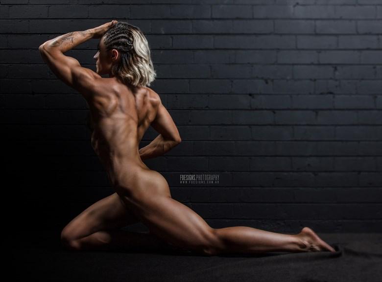 Artistic Nude Studio Lighting Photo by Photographer Musclemohawk