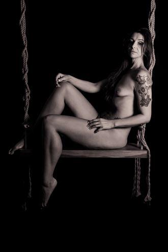 Artistic Nude Studio Lighting Photo by Photographer Olaf Krackov