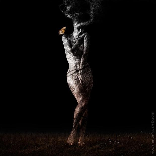 Artistic Nude Studio Lighting Photo by Photographer RudyBrunnler