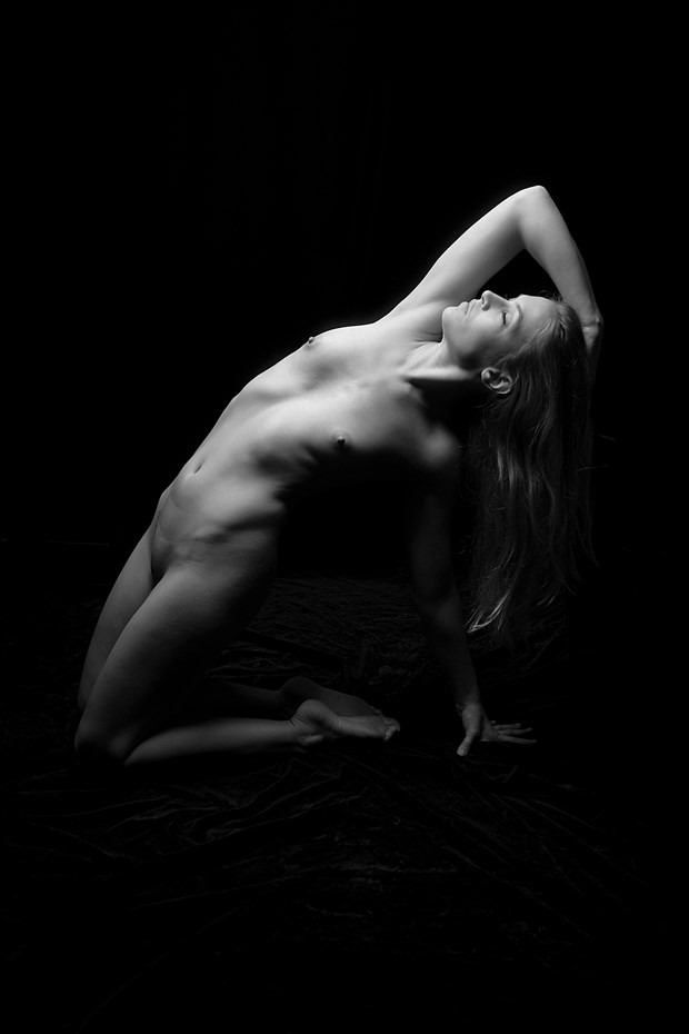 Artistic Nude Studio Lighting Photo by Photographer Steve Coulter