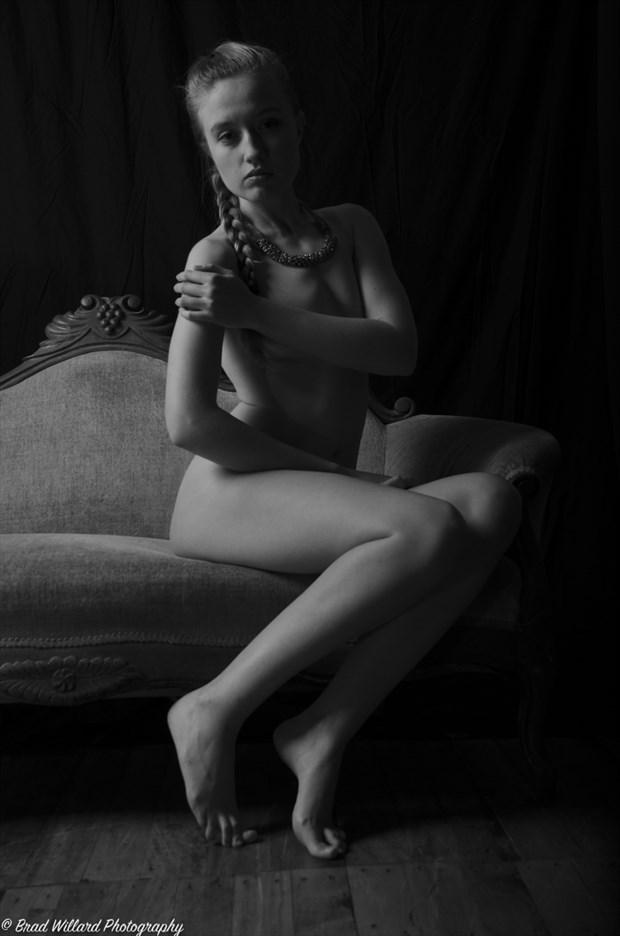 Artistic Nude Studio Lighting Photo by Photographer bwwphotography