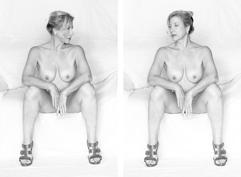 Artistic Nude Studio Lighting Photo by Photographer francescabliss
