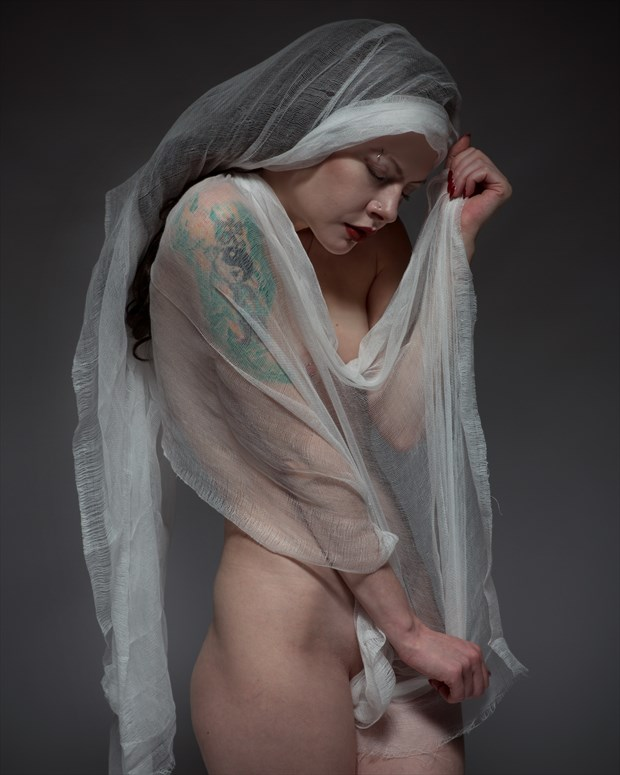 Artistic Nude Studio Lighting Photo by Photographer milchuk