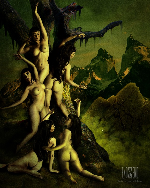Artistic Nude Surreal Artwork by Photographer end2endphoto